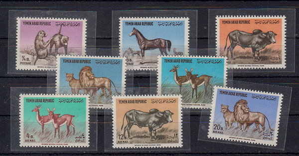 Briefmarken Jemen Arab. Republik 382-89 **