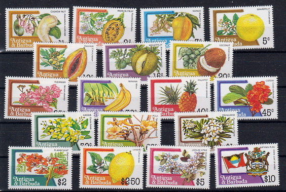 Briefmarken Antigua und Barbuda 719-30 A **